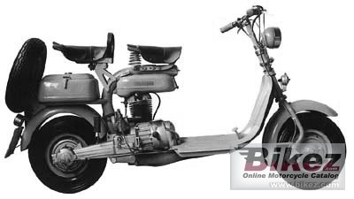 1955 Lambretta 125F