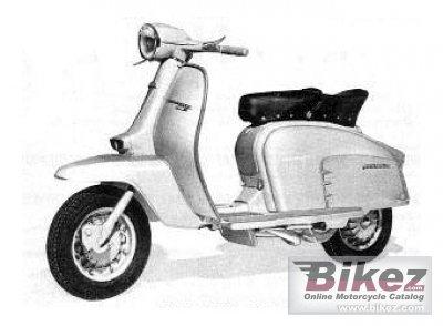 1963 Lambretta LI 150 Silver Special