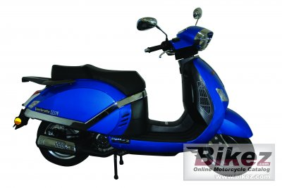 2009 Lambretta Pato 125 specifications and pictures