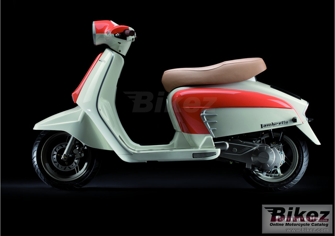 Big Lambretta ln125 picture and wallpaper from Bikez.com
