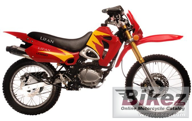 Big Lifan lf250 cobra picture and wallpaper from Bikez.com