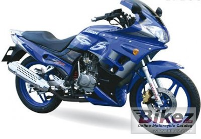 2008 Lifan LF200 GS Sport specifications and pictures