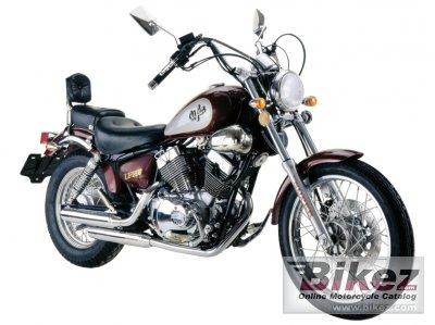 легкий мотоцикл yamaha