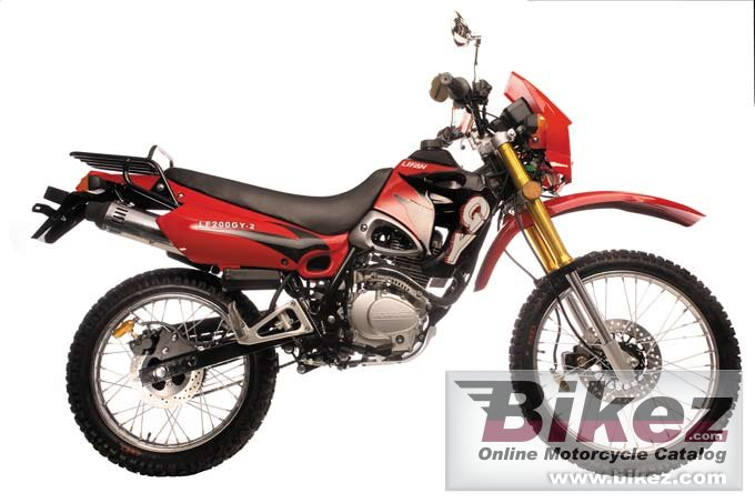 Big Lifan huntaway 200 picture and wallpaper from Bikez.com
