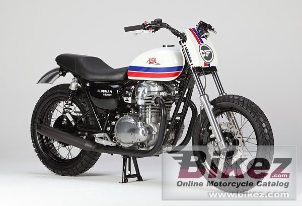 Big LSL clubman w 800 tr flat tracker picture and wallpaper from Bikez.com