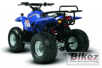 2009 Macbor ATV CX 100