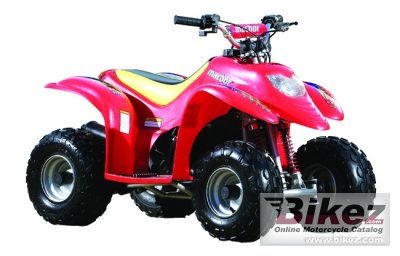 2009 Macbor ATV CX 50 Mini