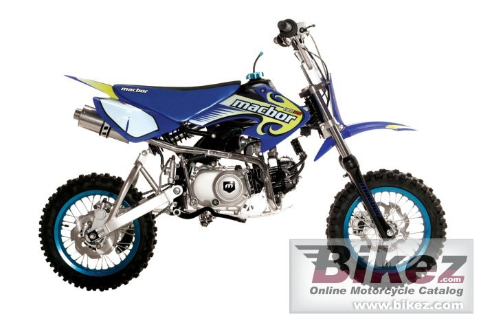 Big Macbor xcr 125 picture and wallpaper from Bikez.com