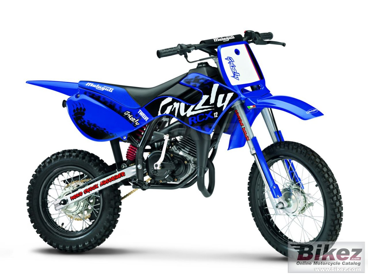 Big Malaguti grizzly rcx 12 picture and wallpaper from Bikez.com