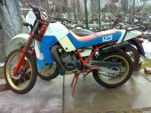 1985 Malanca 125 Mark Enduro photo