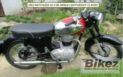 1964 Matchless G2 CSR