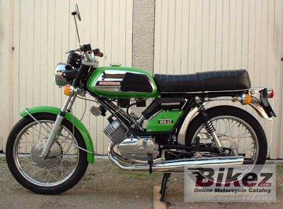 1974 MBK 125 LT