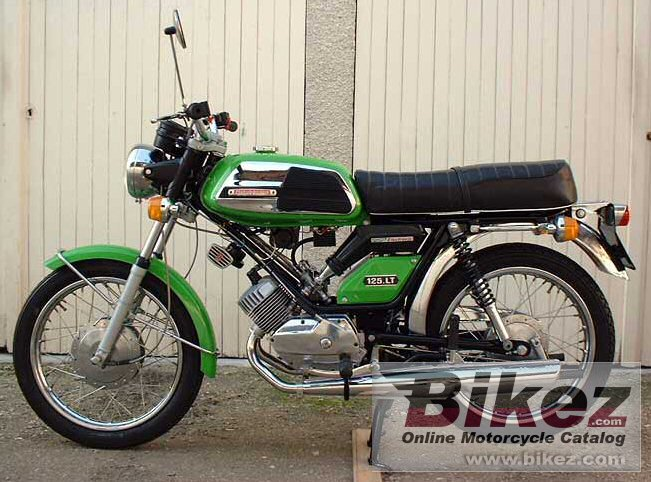 Motobecane club of France 125 lt