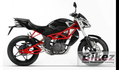 2009 Megelli Streetbike 125 s photo