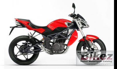 2010 Megelli Naked Streetbike 125S photo