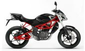 2011 Megelli Naked Streetbike 125S photo
