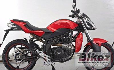2020 Megelli Naked 250S