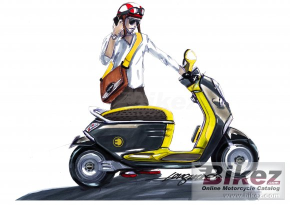 2011 Mini Scooter E