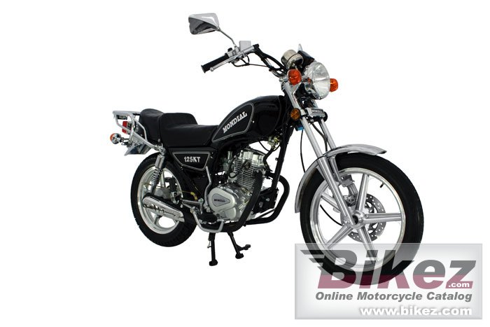 Big Mondial 125 kt picture and wallpaper from Bikez.com