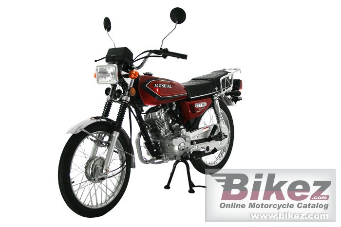 Big Mondial 125 mg classic picture and wallpaper from Bikez.com
