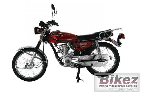 2012 Mondial 125 MG Classic photo