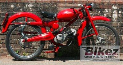 1958 Moto Guzzi Cardellino 65 Turismo