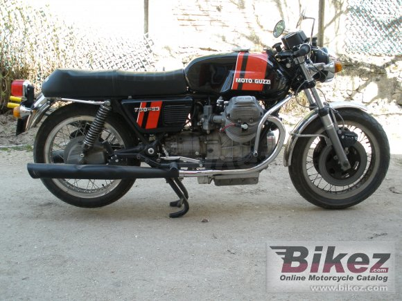 1976 Moto Guzzi 750 S 3 photo