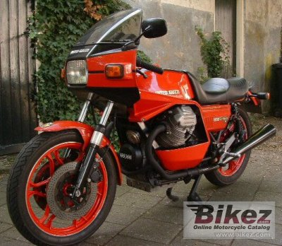 1981 moto guzzi 850 le mans ii specifications and pictures. Black Bedroom Furniture Sets. Home Design Ideas