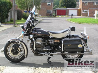 1982 moto guzzi v 1000 california ii specifications and pictures. Black Bedroom Furniture Sets. Home Design Ideas