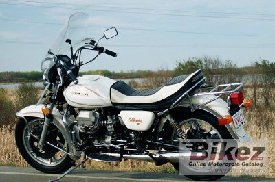 1984 moto guzzi v 1000 california ii specifications and pictures. Black Bedroom Furniture Sets. Home Design Ideas