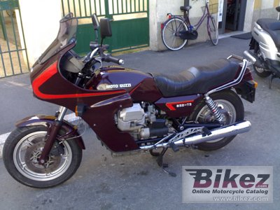 1984 Moto Guzzi 850 T 5
