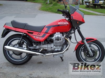 1986 Moto Guzzi V 35 III photo