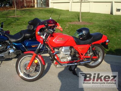 1989 Moto Guzzi Mille GT photo