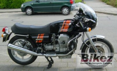 1991 Moto Guzzi 1000 S photo