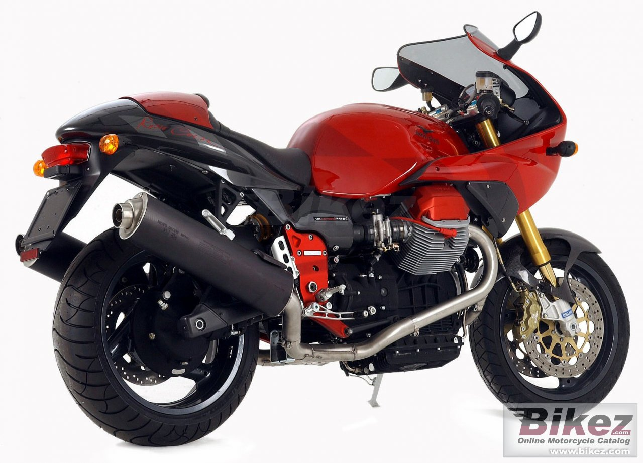 Big Moto Guzzi v11 le mans rosso corsa picture and wallpaper from Bikez.com