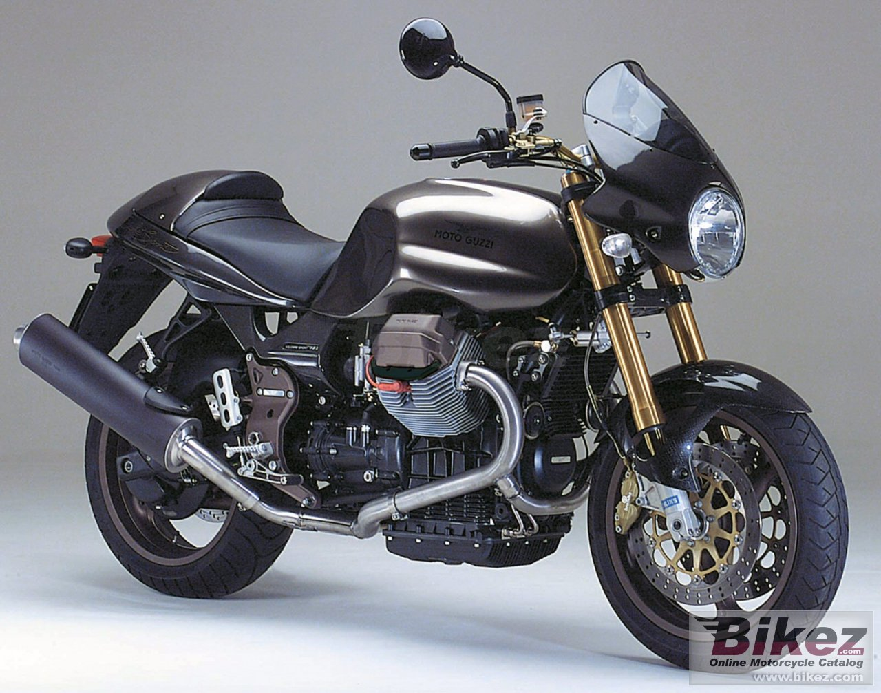 Big Moto Guzzi v 11 cafe sport picture and wallpaper from Bikez.com