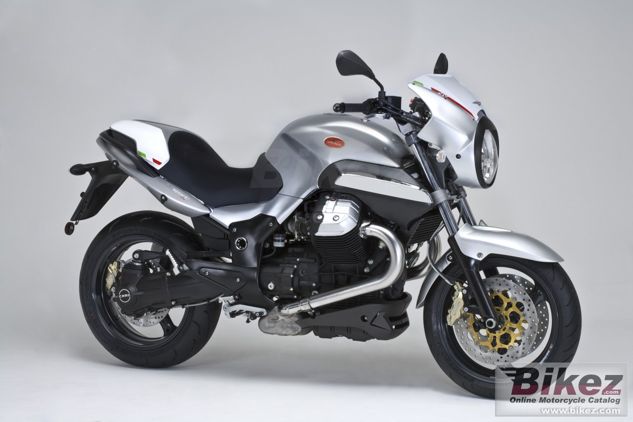 Big Moto Guzzi 1200 sport 4v picture and wallpaper from Bikez.com