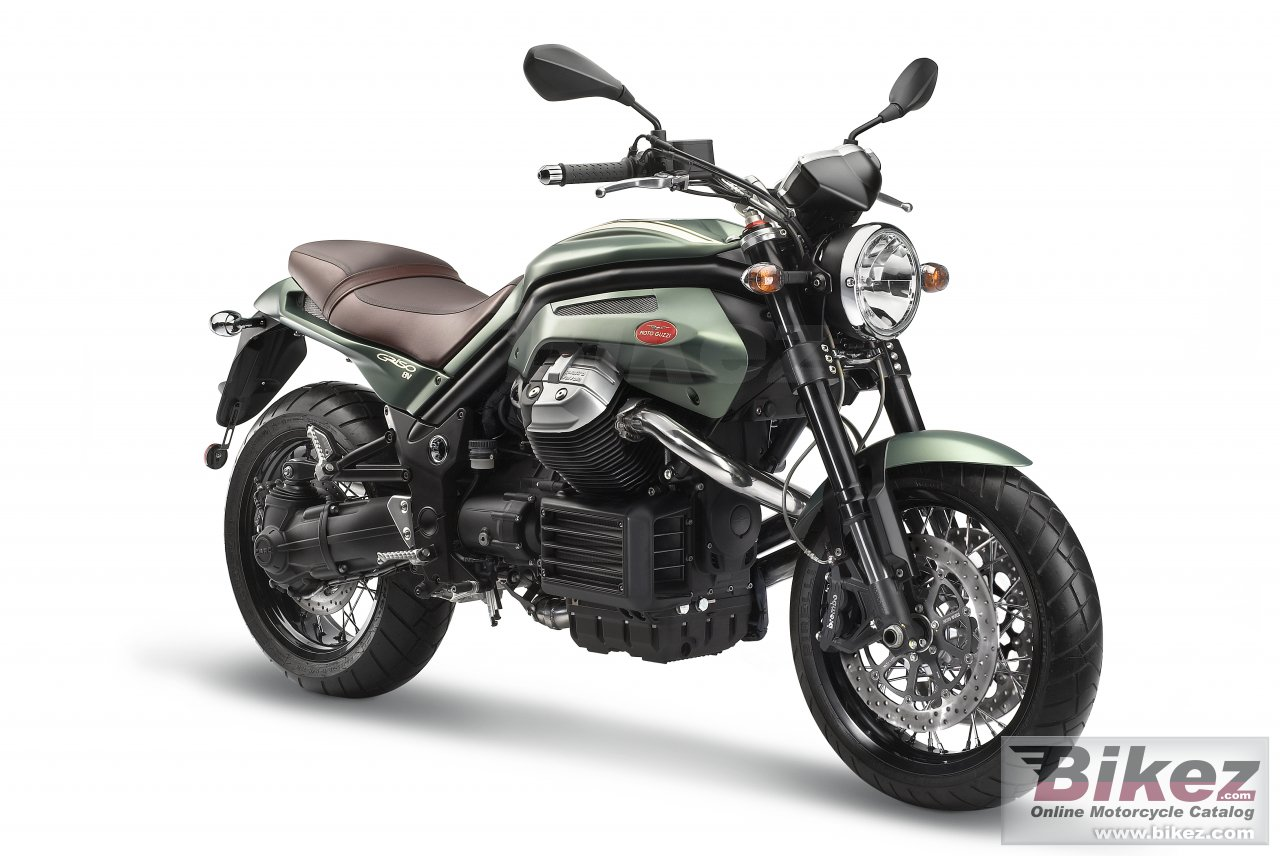 Big Moto Guzzi griso 8v special edition picture and wallpaper from Bikez.com