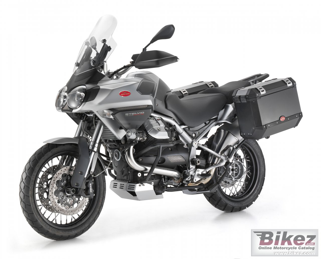 Big Moto Guzzi stelvio 1200cc ntx 4v picture and wallpaper from Bikez.com