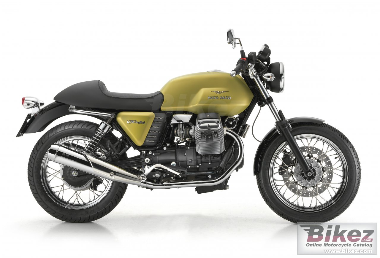 Big Moto Guzzi v7 cafe classic picture and wallpaper from Bikez.com