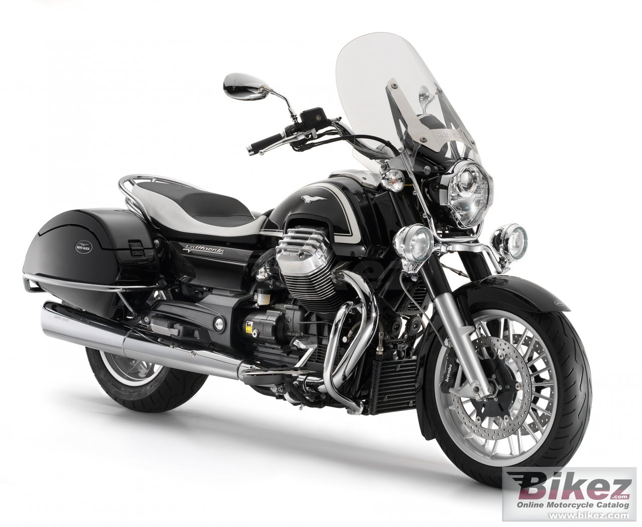 Big Moto Guzzi california 1400 touring picture and wallpaper from Bikez.com