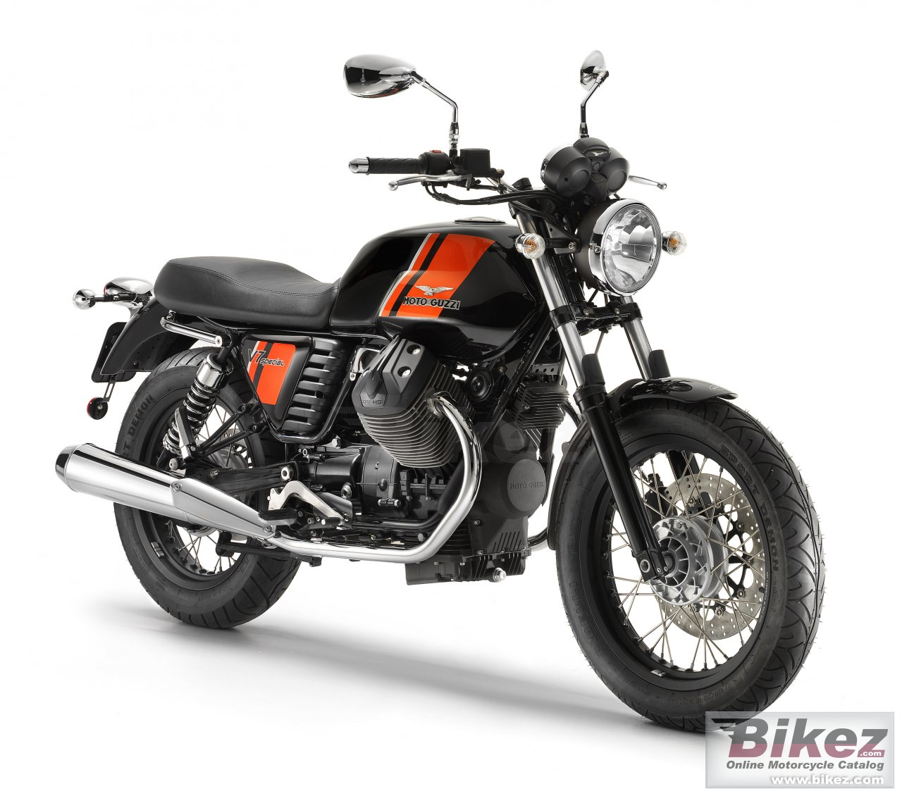 Big Moto Guzzi v7 special picture and wallpaper from Bikez.com