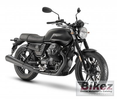 2020 Moto Guzzi V7 III Stone Night Pack