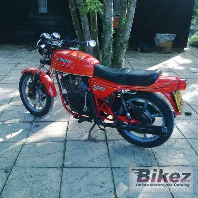 1979 Moto Morini 500 S