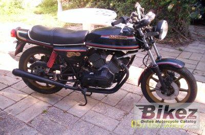 1980 Moto Morini 500 T