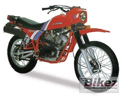 1982 Moto Morini 500 Camel