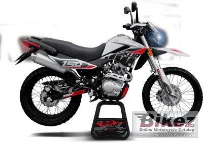 2020 Motomel Skua 150 Silver Edition