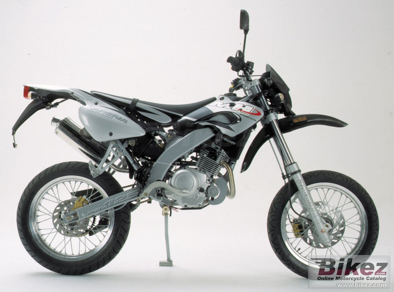 Motorhispania arena 125 pro racing super motard