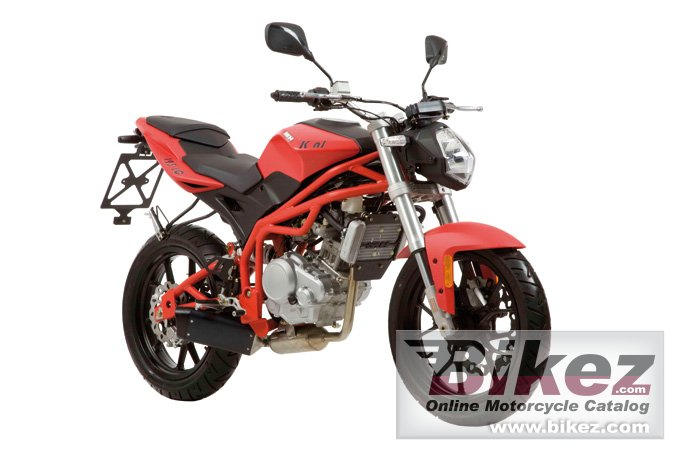 Big Motorhispania kn1 125 picture and wallpaper from Bikez.com