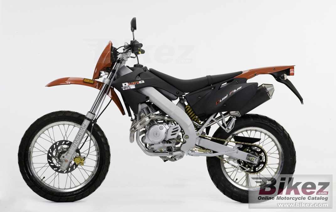 Big Motorhispania duna 125 trail picture and wallpaper from Bikez.com